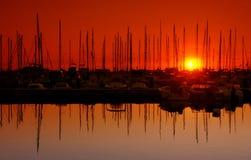 De haven van Corsica Royalty-vrije Stock Foto's
