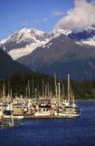 De haven van de berg royalty-vrije stock afbeeldingen