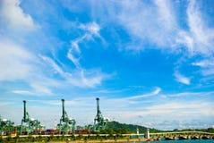 De Haven van de container Royalty-vrije Stock Fotografie