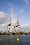 De haven van de container Royalty-vrije Stock Foto's