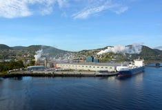 De haven van de hoekbeek Royalty-vrije Stock Afbeeldingen