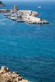 De haven van de Jachthaven van Marciana, Eiland van Elba, royalty-vrije stock foto's