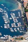 De haven van de Jachthaven van Marciana - het eiland van Elba Royalty-vrije Stock Foto's