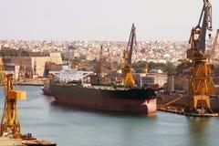 De haven van de lading Stock Fotografie