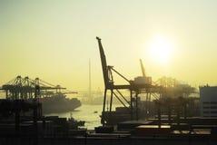 De haven van de lading Royalty-vrije Stock Afbeelding