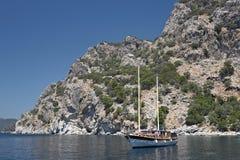 De Haven van de ochtend in Marmaris, Turkije Royalty-vrije Stock Foto's