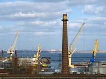 De haven van de Oekraïne Odessa. Royalty-vrije Stock Afbeelding