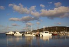 De Haven van de oester Stock Afbeelding