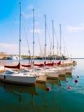 De haven van de stad van Gdynia, Polen Stock Afbeelding