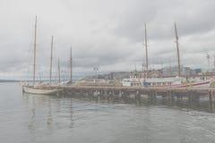 de haven van de stad van Oslo Stock Foto's