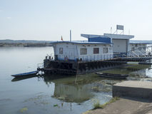 De haven van Donau, drobeta-Turnu Severin, Roemenië Royalty-vrije Stock Afbeelding