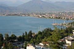 De haven van Fethiye, Turkije Royalty-vrije Stock Fotografie