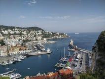 De haven van Frankrijk Stock Afbeelding