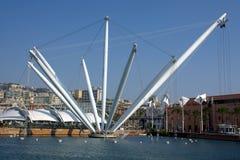 De haven van Genua Stock Foto