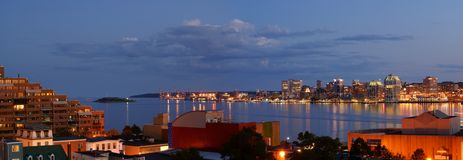 De haven van Halifax Royalty-vrije Stock Afbeelding