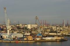 De Haven van Hamburg, Duitsland Royalty-vrije Stock Afbeeldingen