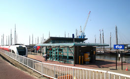 De haven van Harlingen Royalty-vrije Stock Afbeeldingen