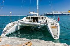 De haven van Heraklion stock fotografie