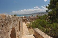 De haven van Heraklion, Kreta Griekenland Royalty-vrije Stock Foto