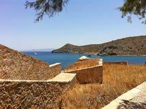 De haven van Heraklion, Kreta Griekenland Stock Afbeeldingen