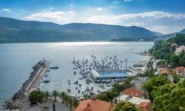 De haven van Hercegnovi royalty-vrije stock fotografie