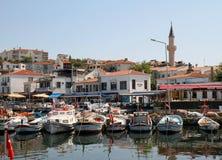 De Haven van het Eiland van Bozcaada, Turkije Royalty-vrije Stock Afbeeldingen