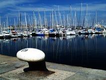 De haven van het genoegen Stock Foto's