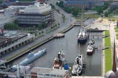 De haven van het museum Royalty-vrije Stock Fotografie