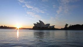 De haven van het de operahuis van Sydney stock footage