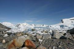 De Haven van het paradijs in Antarctica Stock Afbeelding