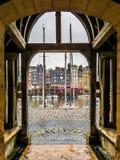 De haven van Honfleur Stock Fotografie
