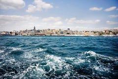 De Haven van Istanboel Stock Afbeeldingen