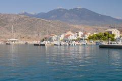 De Haven van Itea, Griekenland Stock Foto