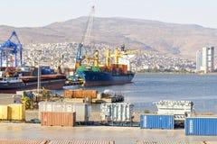 De haven van Izmir Stock Afbeeldingen