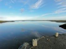 De Haven van Kinvara, Galway, Ierland Stock Afbeelding
