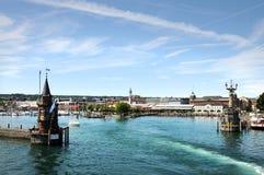 De haven van Konstanz stock foto's
