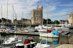 De haven van La Rochelle stock fotografie