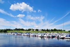 De haven van Lappeenranta. Finland royalty-vrije stock afbeeldingen