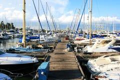 De haven van Larnaca Royalty-vrije Stock Fotografie