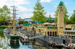 De haven van Lego Stock Afbeeldingen