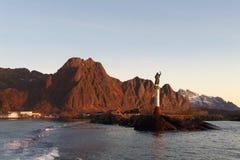 De haven van Lofoten royalty-vrije stock afbeeldingen
