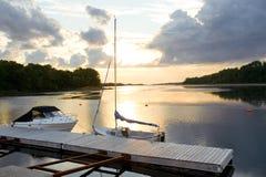 De Haven van Mabou Royalty-vrije Stock Afbeeldingen