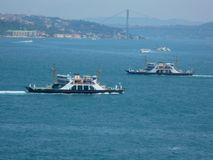 in de haven van de Middellandse Zee royalty-vrije stock afbeelding