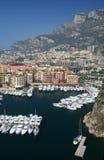 De haven van Monaco stock fotografie