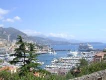 De haven van Monaco. Stock Afbeeldingen