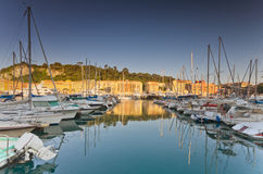 De Haven van Nice, Frankrijk Royalty-vrije Stock Afbeeldingen