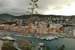De haven van Nice in Frankrijk Royalty-vrije Stock Afbeelding