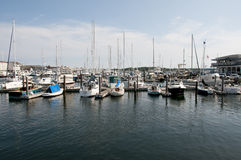 De Haven van Nieuwpoort - Rhode Island - de V.S. stock afbeelding