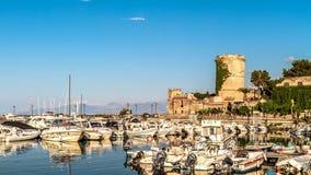 De Haven van Palermo stock foto