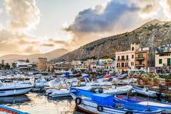 De Haven van Palermo stock afbeelding